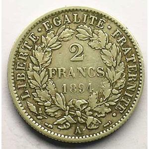 1894 A  (Paris)    TB+/TTB