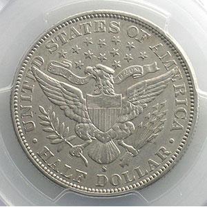 1894 S  (San Francisco)    PCGS-AU53    TTB+
