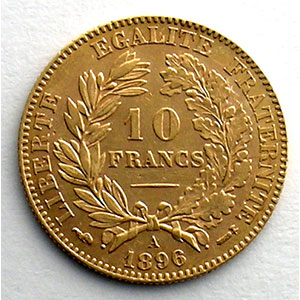 1896 A  (Paris)    TTB+/SUP
