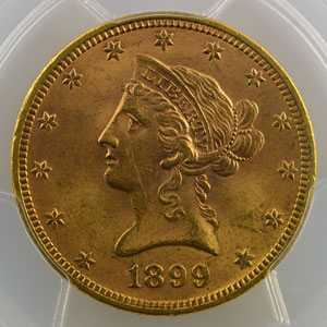 1899    PCGS-MS63    SUP/FDC