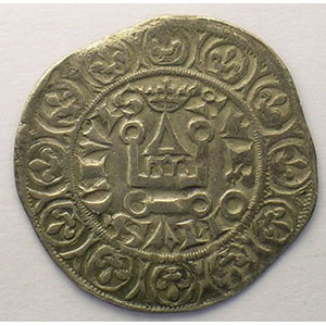 Photo numismatique  Monnaies Monnaies royales fran�aises Philippe VI   (1328-1350) Duplessy 265   Gros � la Queue TTB