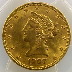 1907    PCGS-MS63    SUP/FDC