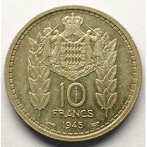 1945  Essai en argent    FDC