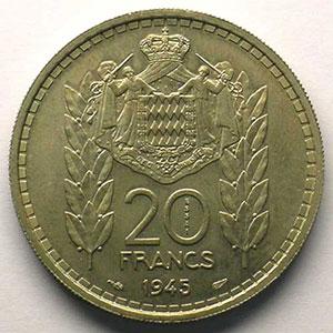 1945  Essai en cupro-nickel    SUP/FDC