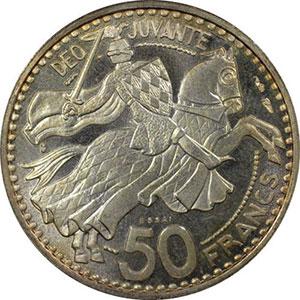 1950 Essai en argent    PCGS-SP65    FDC