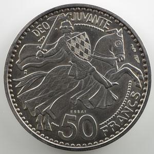 1950 Piéfort-Essai en argent    SUP