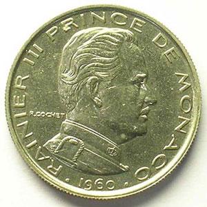 1960  Essai en nickel    SUP