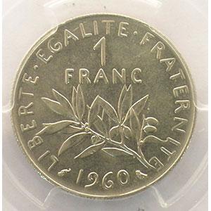 1960   grand 0    PCGS-MS63    pr.FDC