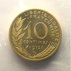 1972   Piéfort en or    BE