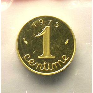 1975   Piéfort en or    BE