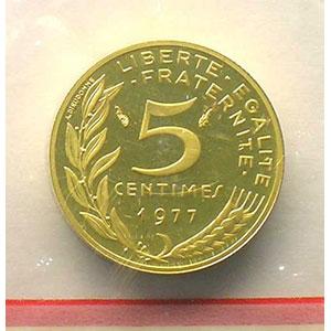1977   Piéfort en or    BE