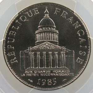 1985    PCGS-MS69    FDC exceptionnel