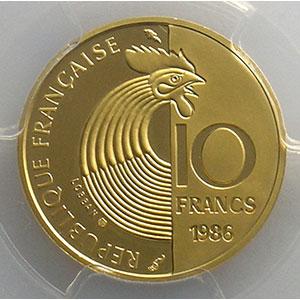 1986  or    PCGS-PR68DCAM    BE