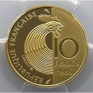 1986  or    PCGS-PR69DCAM    BE