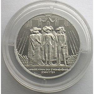 1989   Piéfort en Platine    FDC