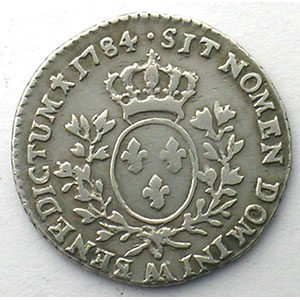Photo numismatique  Monnaies Monnaies royales fran�aises Louis XVI   (1774-1792) G.353   1/10 Ecu