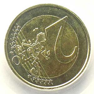 2 €   2006 Atomium   coins tournés 135° horaire    PCGS-MS64   pr.FDC