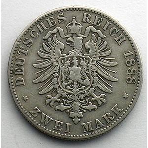 2 Mark   1888 E    TB