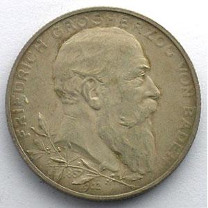 2 Mark   1902   Jubilé de règne/Regierungsjubiläum    TTB+