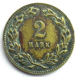 2 Mark   Lt, R  28,5mm    TTB