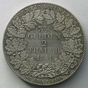 2 Thaler   1841    TB+/TTB