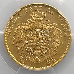 20 Francs   1882    PCGS-MS65    FDC