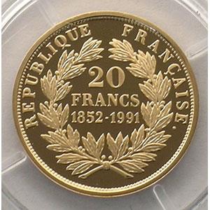 20 Francs   1991    BE