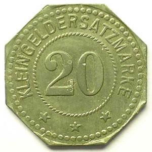 20 (pf) 1917   Zn,8   22 mm   TTB