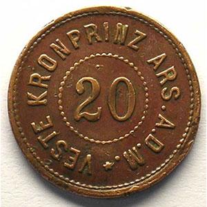 20 (Pf)   Cu, R  20,5mm    TB