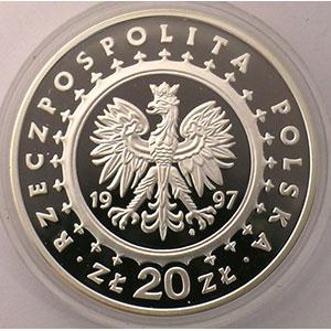 20 Zlotych   1997    BE