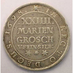 24 Mariengroschen   1698    TTB+