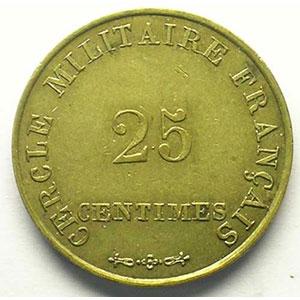 25 Centimes   Lt,R   23 mm    TTB/TTB+