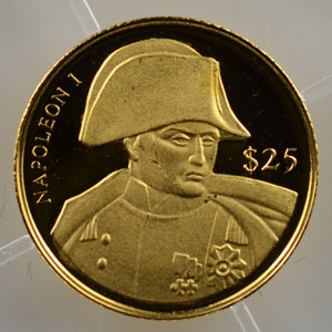 25 Dollars   2000   Napoléon I    BE