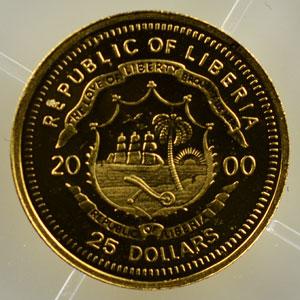 25 Dollars   2000   Napoléon I    BE