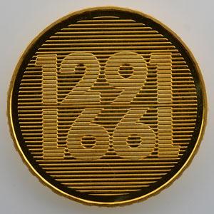 250 Francs   700° anniversaire de la Confédération Helvétique 1291-1991   1991 B    FDC