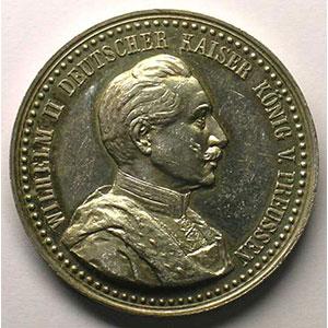 27 janvier 1909   argent   33mm    SUP