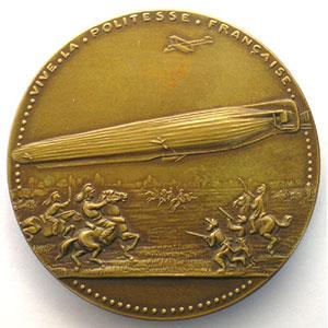 3 avril 1913   bronze   50,5mm    pr.SUP