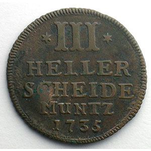 3 Heller   1735    TB+/TTB