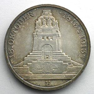 3 Mark   1913 E  (Dresde)    SUP/FDC