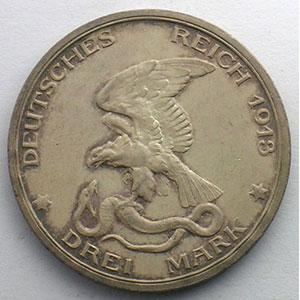 3 Mark   1913    SUP/FDC