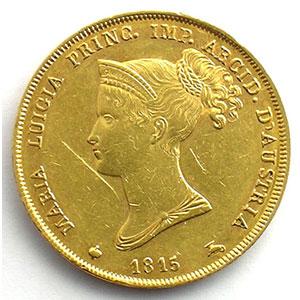 40 Lire   Marie-Louise (1815-1847)   1815    TTB/SUP