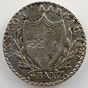 5 Batzen   1826    TTB