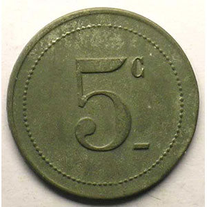 5 c   Zn,R  21 mm    TTB
