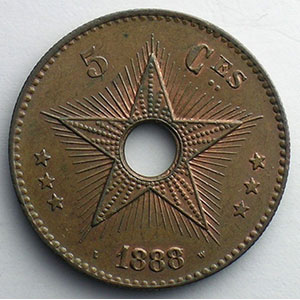 5 Cent.   1888/7    SUP/FDC