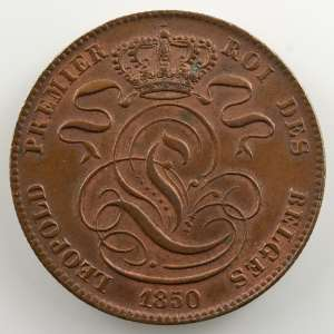 5 Cents   1850    SUP