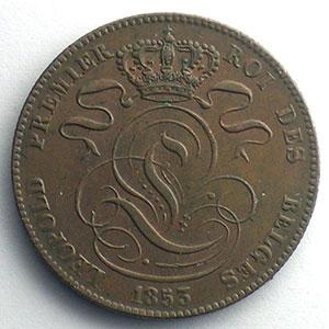 5 Cents   1853    TTB+