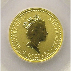 5 Dollars   1992    BE