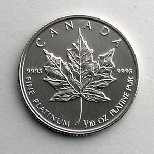 5 Dollars   1993   Feuille d'érable (Maple leaf)    FDC