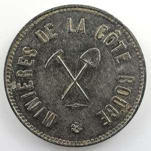 5 Francs   1889   ZnNi, R  30mm    TB+/TTB