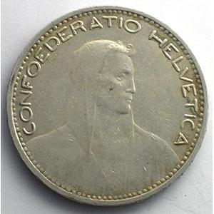5 Francs   1923 B    TTB